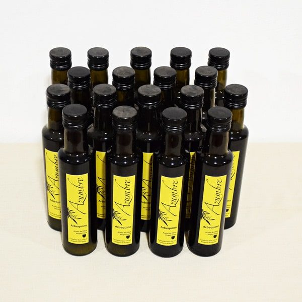 Pack 18 Botellas Aceite oliva virgen extra arbequina