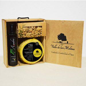 maletín madera curado en aceite