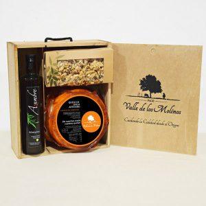 maletín madera curado en pimentón