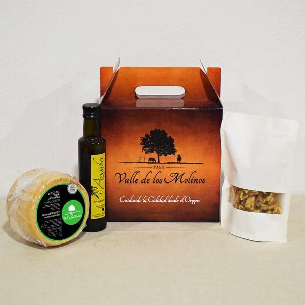 Pack Semicurado Artesano 1kg, Nueces y Aceite.