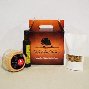 pack curado artesano 1kg, nueces y aceite.