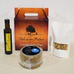 Pack curado romero 1kg, nueces y aceite.