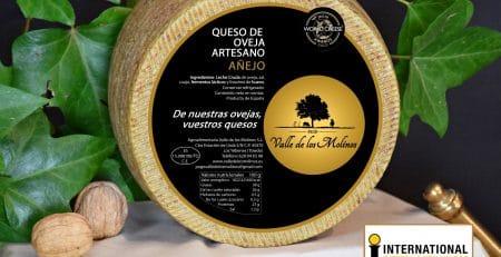Queso Añejo Artesano premiado