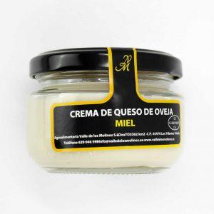 Crema de Queso de Oveja y Miel